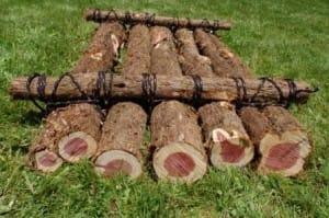 Duct Tape Log Float