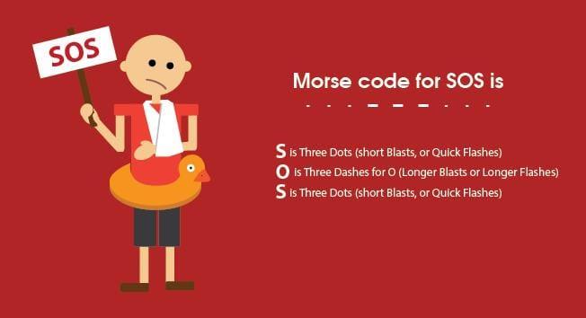 Morse Code for SOS