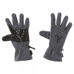 Jack Wolfskin Ladies Tri Paw Grip Glove Grey Heather