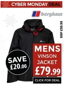 Berghaus Vinson Jacket - Only £79.99