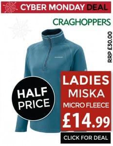 Craghoppers Ladies Miska Fleece - Only £14.99