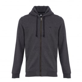 Mens Bedrock Fleece Hoody Charcoal