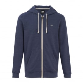 Mens Bedrock Fleece Hoody Dark Navy