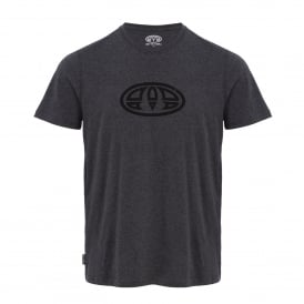 Mens Lister T-Shirt Charcoal