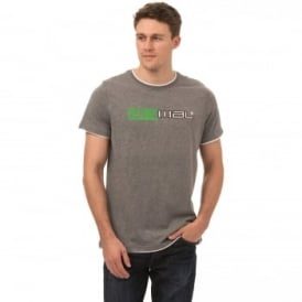 Animal Mens Loan T-Shirt SJ069 Charcoal 2XL