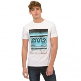 Animal Mens Loffy T-Shirt SJ040 White 2XL