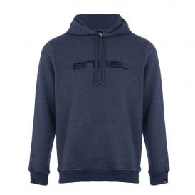 Mens Luna Fleece Hoody Dark Navy