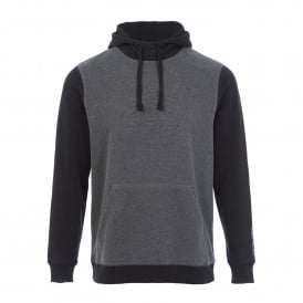 Mens Sabre Fleece Hoody Charcoal