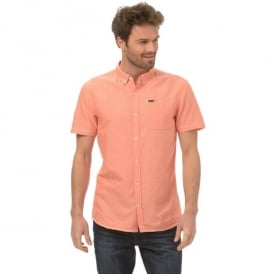 Animal Mens Smokeys Shirt Coral
