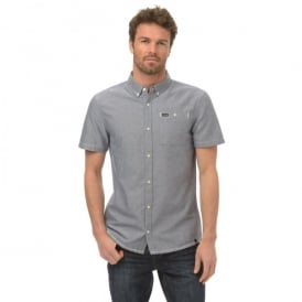 Animal Mens Smokeys Shirt Indigo