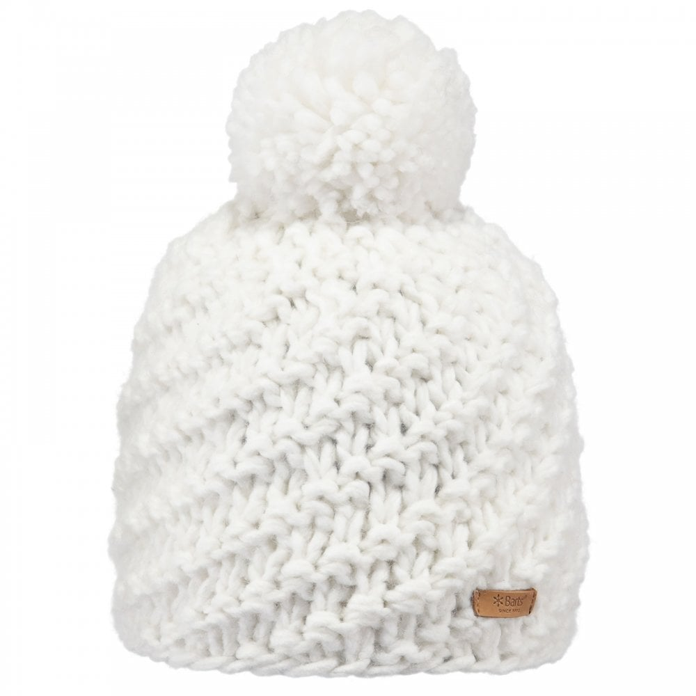 f52b1dd290f Barts Chani Beanie White - Ladies from Great Outdoors UK