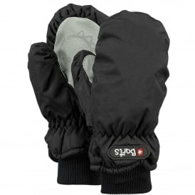 Kids Nylon Mitts Black