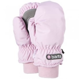 Kids Nylon Mitts Pink