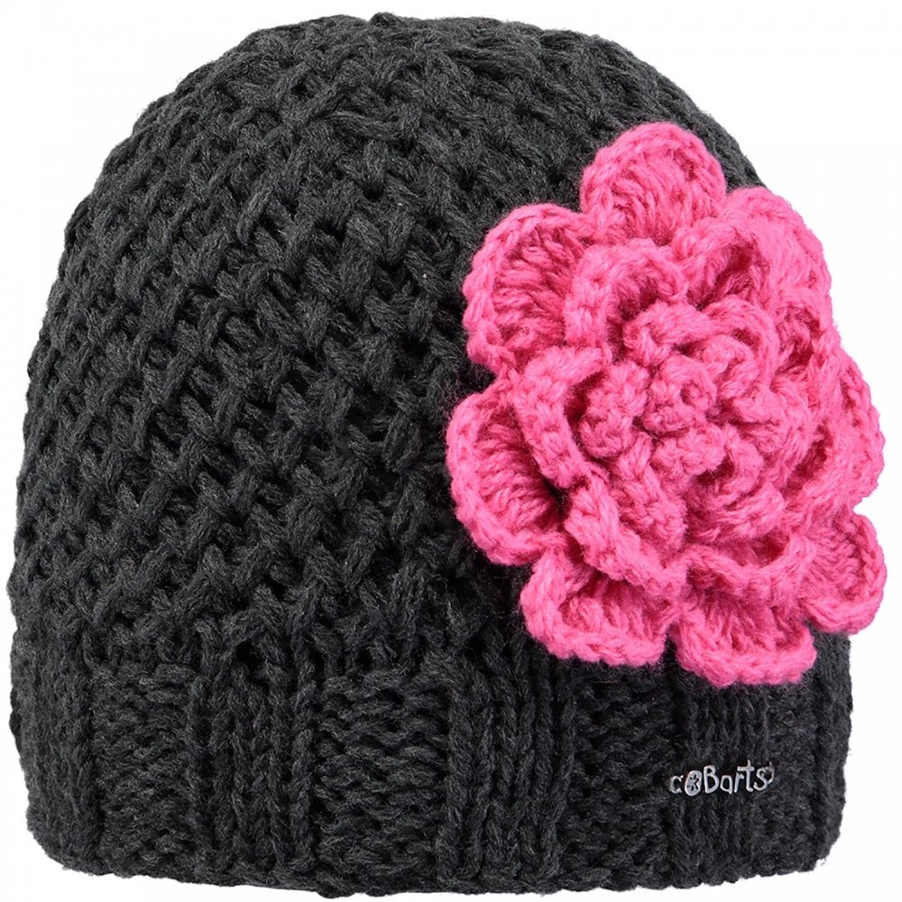 fb3af7fd Barts Kids Rose Beanie Dark Heather - Kids from Great Outdoors UK