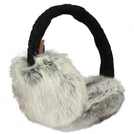 Ladies Fur Earmuffs Rabbit