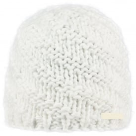 Ladies Jade Beanie White