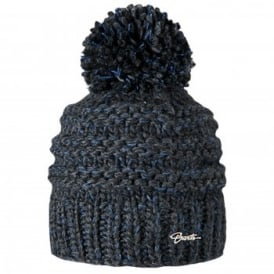 Ladies Jasmin Beanie Dark Heather