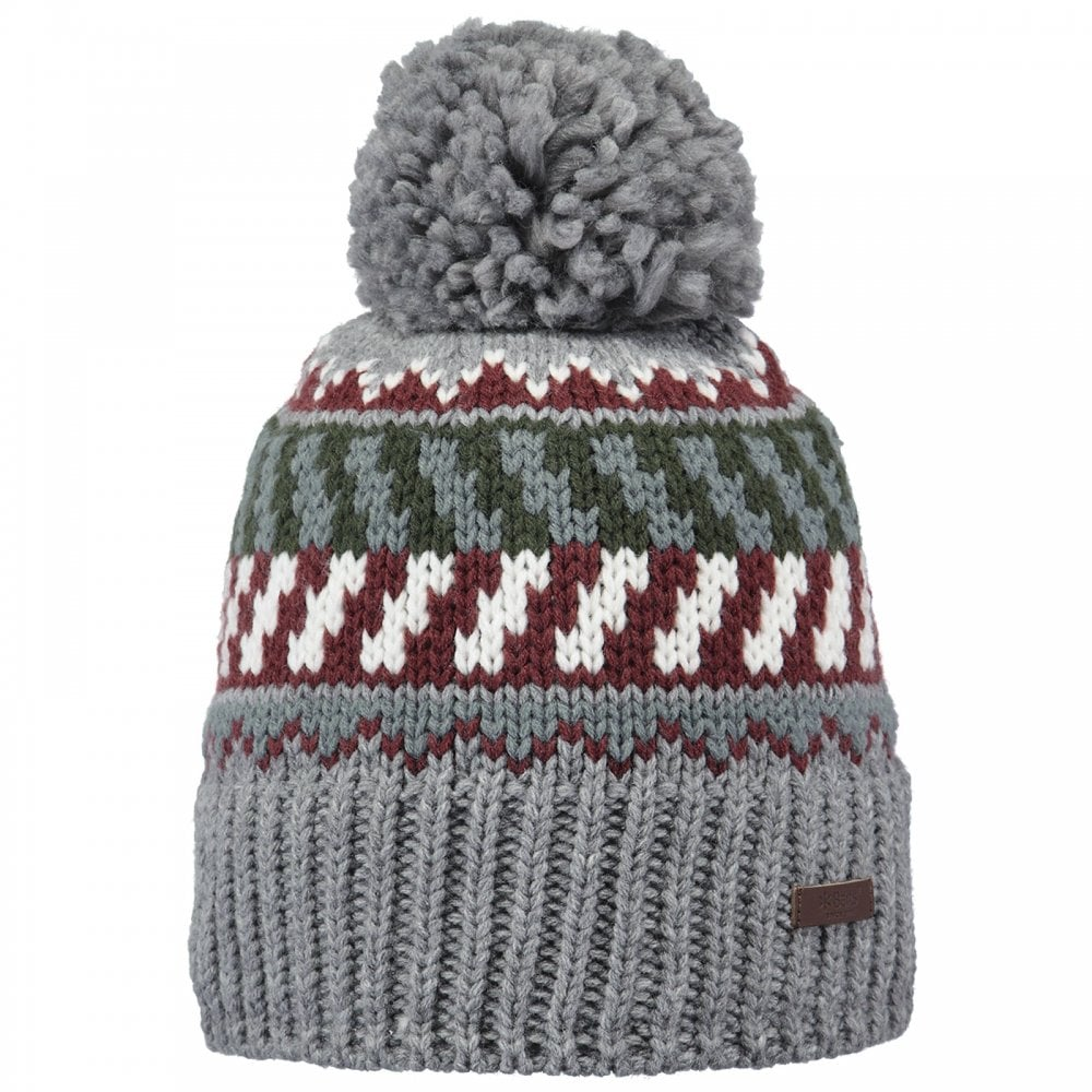 c3d1b39571893 Barts Nevada Beanie Heather Grey - Mens from Great Outdoors UK