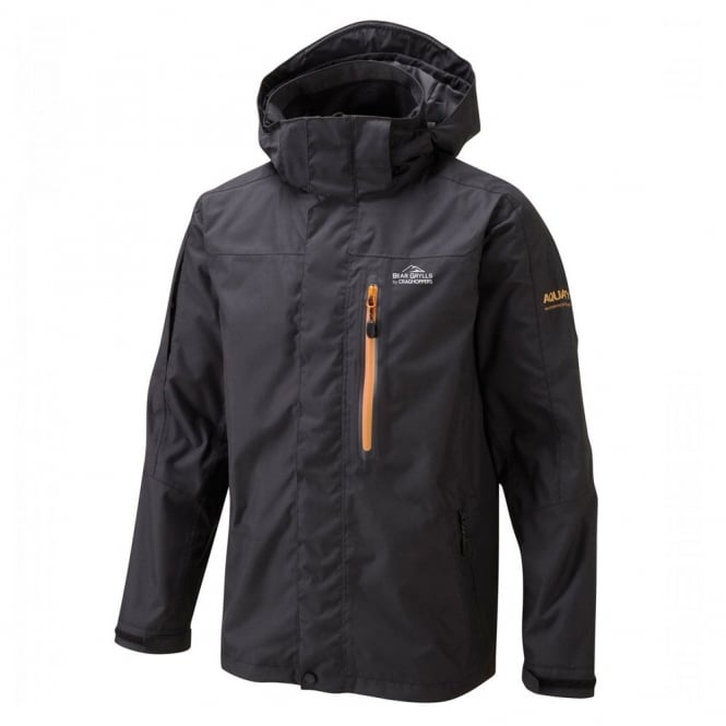 152310ff5452 Craghoppers Bear Grylls Mens Bear Mountain Jacket Black
