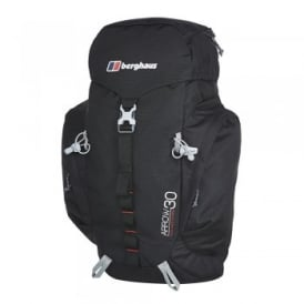 Arrow 30 Litre Rucksack Black/Extreme Red