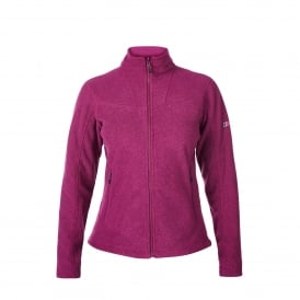 Ladies Activity 2.0 Fleece Jacket Dark Cerise
