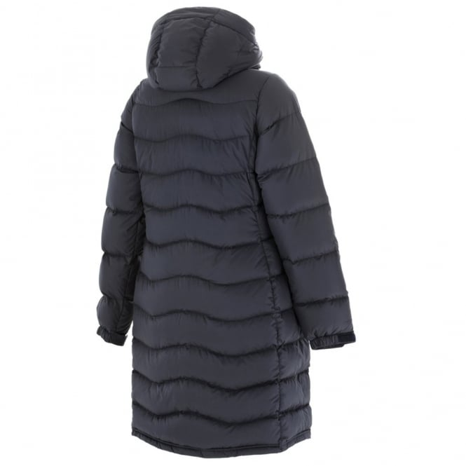 Berghaus Ladies Black Akka Long Down Jacket - Free UK Delivery