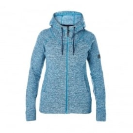 Ladies Easton Fleece Jacket Aquamarine