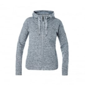 Ladies Easton Fleece Jacket Light Grey
