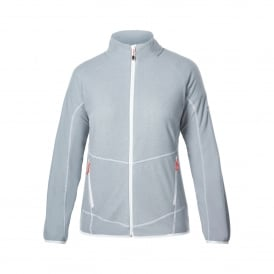 Ladies Spectrum Micro 2.0 FZ Fleece Quarry