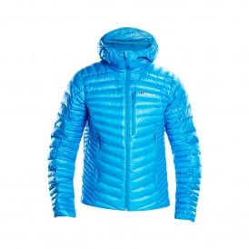 Mens Extrem Micro Down Jacket Adriatic