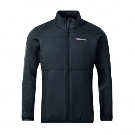 Mens Gemini Hybrid Insulated Jacket Carbon/Jet Black Marl