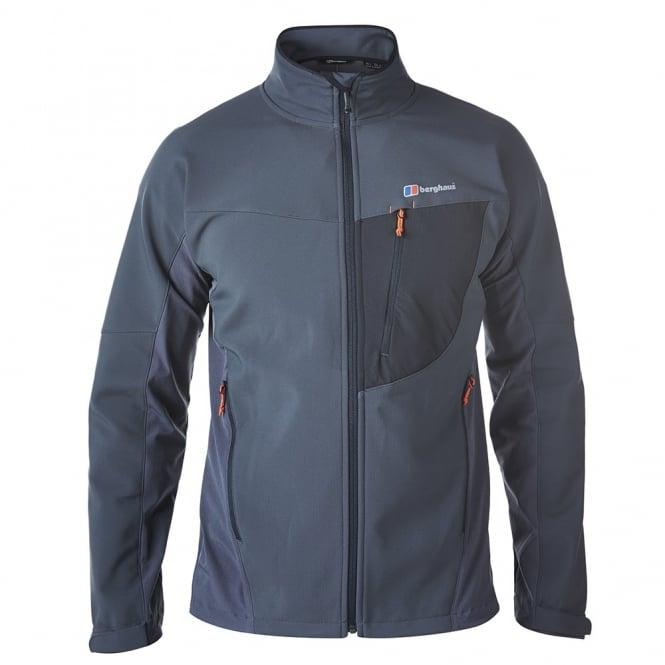 c21e53262 Berghaus Mens Ghlas Softshell Jacket Carbon - Mens from Great ...