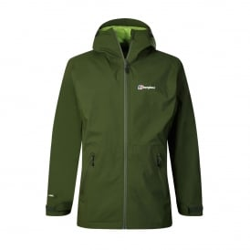 Mens Stormcloud Jacket Chive (Lime Green)