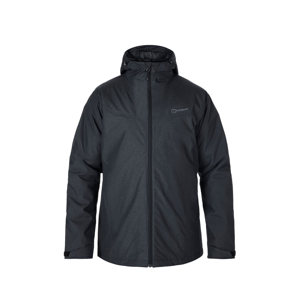 Berghaus Mens Stronsay Insulated Jacket Jet Black - Mens from ...