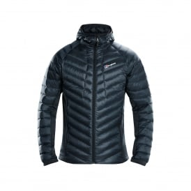 Mens Tephra Stretch Down Jacket Carbon