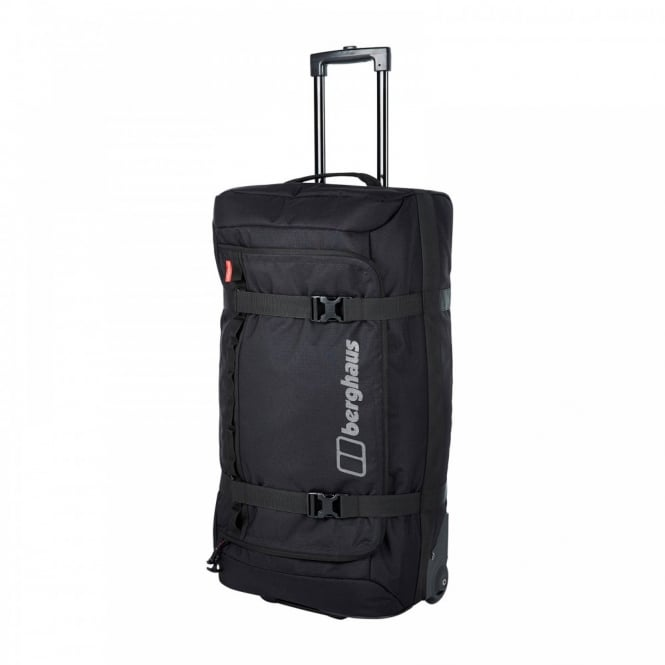 Vintage Child At Sunny Beach With Travel Suitcase Stock: Berghaus Travel Mule 80 Litre Holdall Black