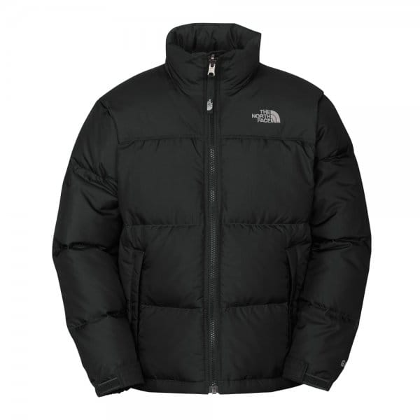 The North Face Boy S Black Nuptse Jacket Free Uk Delivery