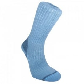 Ladies Merino Fusion Trekker Sock Blue