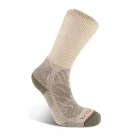 Mens Merino Fusion Trail Sock Natural