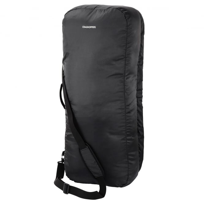 Craghoppers 2 in 1 Holdall & Raincover Black
