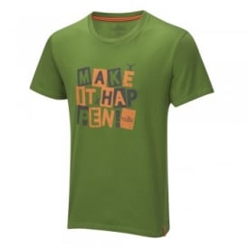 "Bear Grylls Kids Bear ""NGU"" T-Shirt Green"