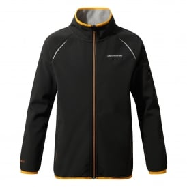 Boys DA Softshell Jacket Black