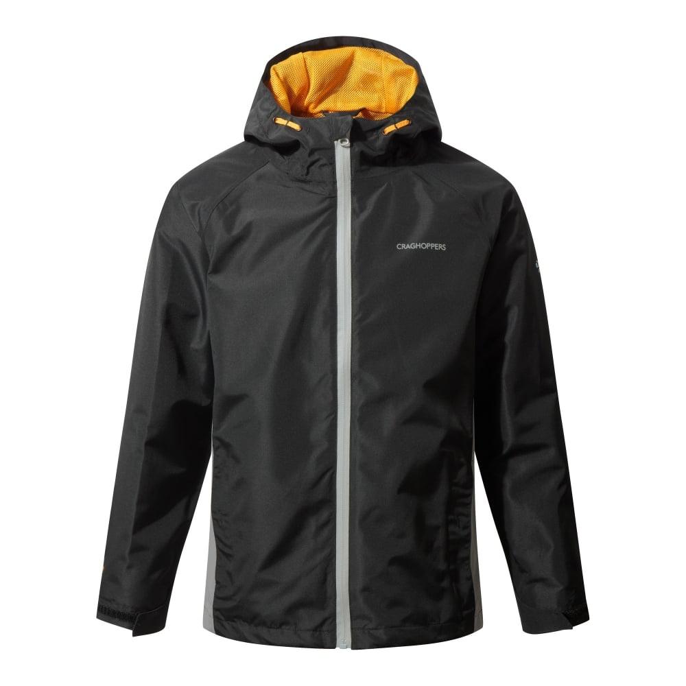 f1ee8bc9b Boys DA Waterproof Jacket Black