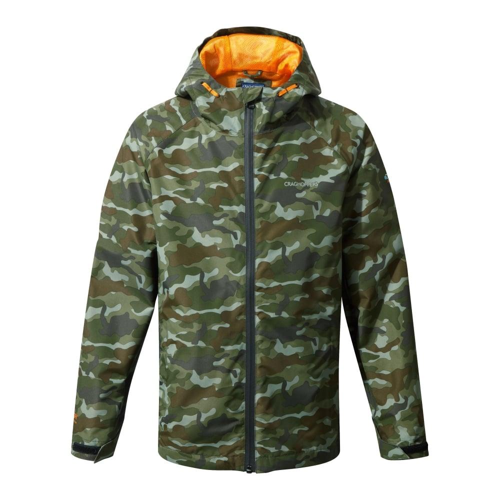 0fb7a9fdd Boys DA Waterproof Jacket Dark Moss