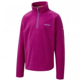 Girls Iskra Half Zip Fleece Bright Magenta