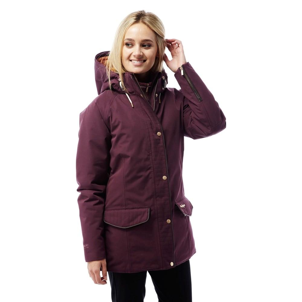 Craghoppers Ladies 250 Jacket Dark Rioja Red - Ladies from Great ...