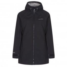 Ladies Eada Hooded Softshell Black
