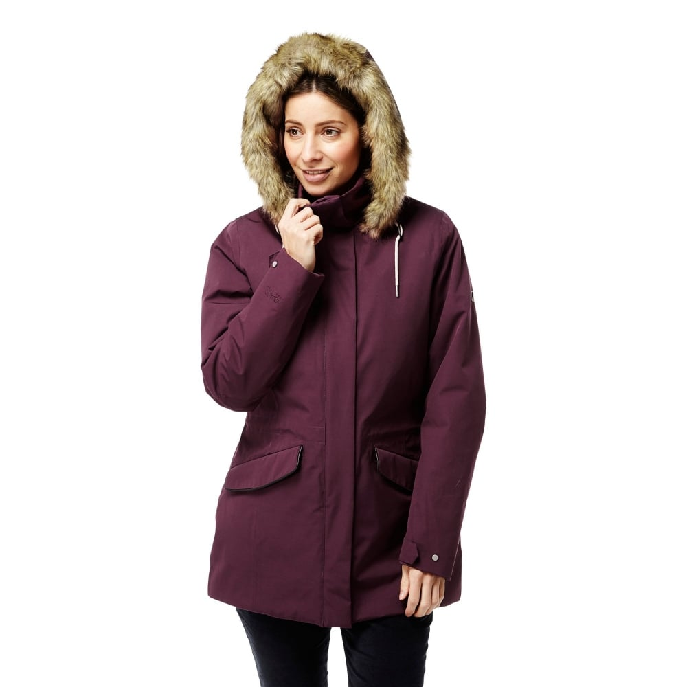 craghoppers women's inga waterproof jacket