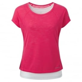 Ladies ProLite 3in1 T-Shirt Electric Pink