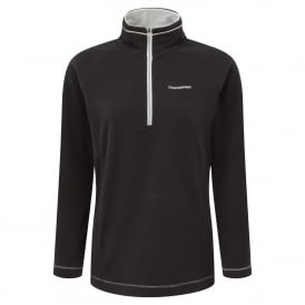 Ladies Seline Half Zip Fleece Black